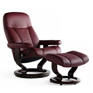 Purple stressless recliners